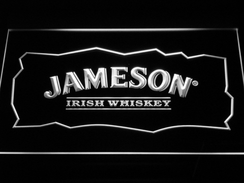 Image of Jameson LED Neon Sign - White - SafeSpecial