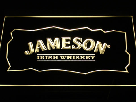 Image of Jameson LED Neon Sign - Yellow - SafeSpecial