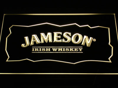 Jameson LED Neon Sign - Yellow - SafeSpecial