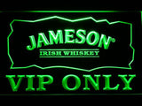 Jameson VIP Only LED Neon Sign - Green - SafeSpecial