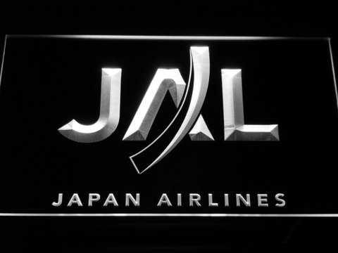 Japan Airlines LED Neon Sign - White - SafeSpecial