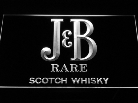 Image of J&B Rare LED Neon Sign - White - SafeSpecial