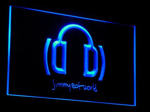 Jimmy Eat World LED Neon Sign - Blue - SafeSpecial