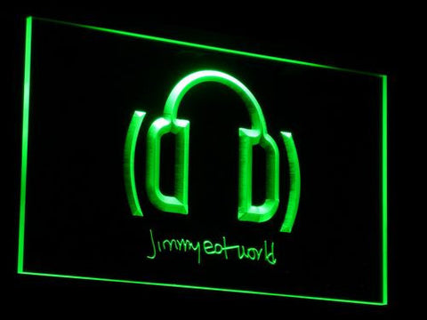 Jimmy Eat World LED Neon Sign - Green - SafeSpecial