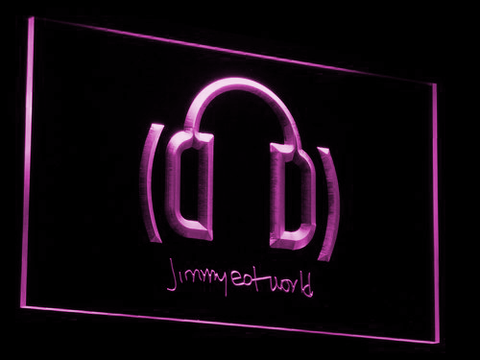 Jimmy Eat World LED Neon Sign - Purple - SafeSpecial