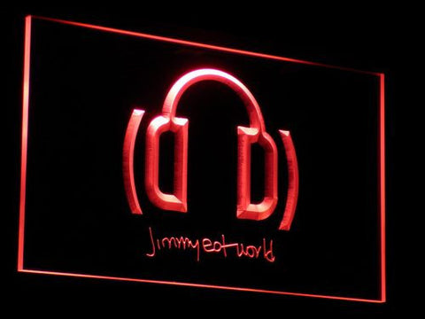 Jimmy Eat World LED Neon Sign - Red - SafeSpecial