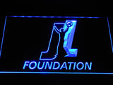 Joey Logano Foundation LED Neon Sign - Blue - SafeSpecial