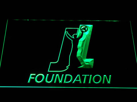 Joey Logano Foundation LED Neon Sign - Green - SafeSpecial