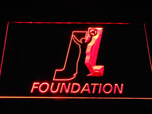 Joey Logano Foundation LED Neon Sign - Red - SafeSpecial