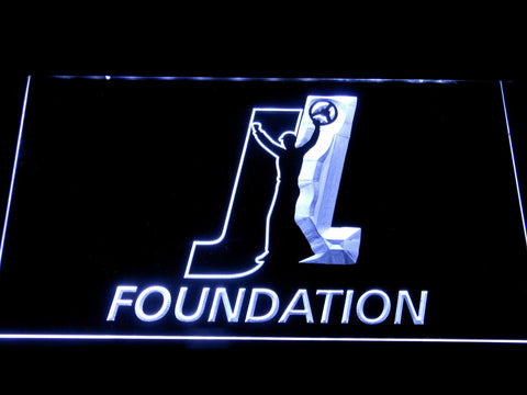 Joey Logano Foundation LED Neon Sign - White - SafeSpecial