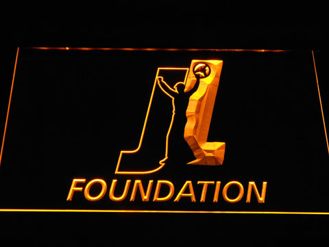 Joey Logano Foundation LED Neon Sign - Yellow - SafeSpecial