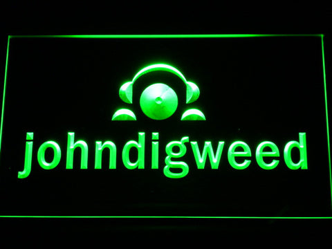 Image of John Digweed LED Neon Sign - Green - SafeSpecial