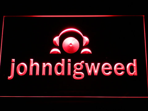 Image of John Digweed LED Neon Sign - Red - SafeSpecial
