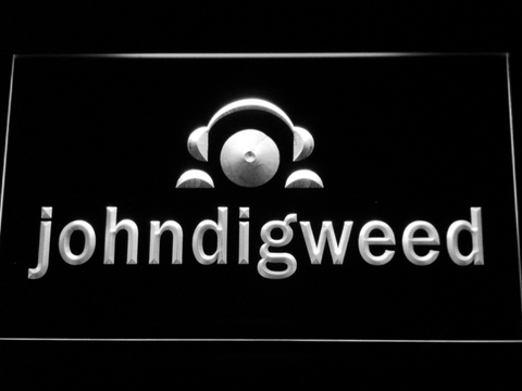Image of John Digweed LED Neon Sign - White - SafeSpecial