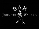 Johnnie Walker Bar LED Neon Sign - White - SafeSpecial