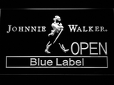 Johnnie Walker Blue Label Open LED Neon Sign - White - SafeSpecial