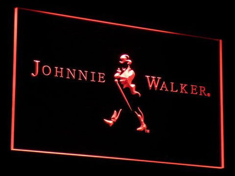 Johnnie Walker LED Neon Sign - Red - SafeSpecial