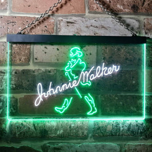 Johnnie Walker Logo 1 Neon-Like LED Sign - Dual Color