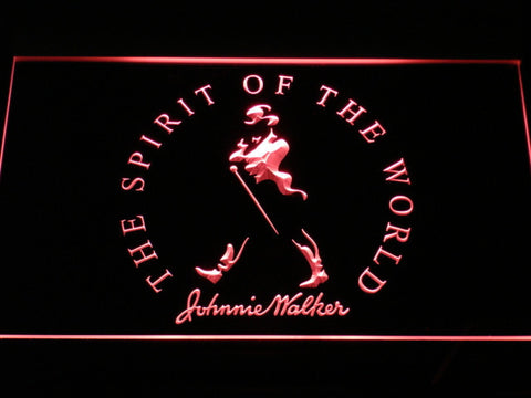Image of Johnnie Walker The Spirit of The World LED Neon Sign - Red - SafeSpecial