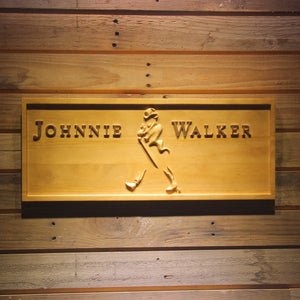 Johnnie Walker Wooden Sign - Small - SafeSpecial