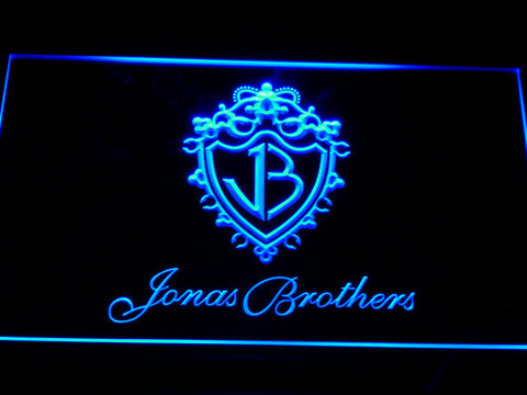 Jonas Brothers LED Neon Sign - Blue - SafeSpecial