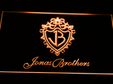 Jonas Brothers LED Neon Sign - Orange - SafeSpecial