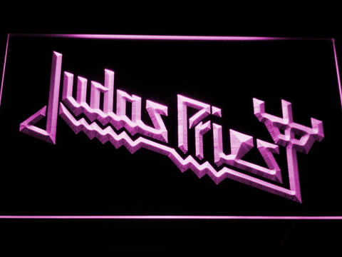 Image of Judas Priest LED Neon Sign - Purple - SafeSpecial