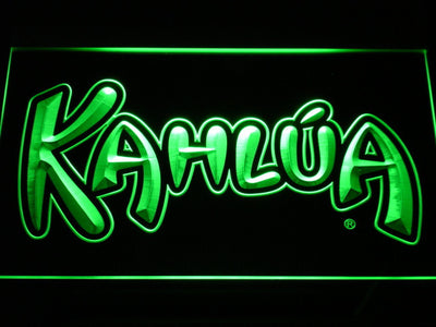 Kahlua LED Neon Sign - Green - SafeSpecial