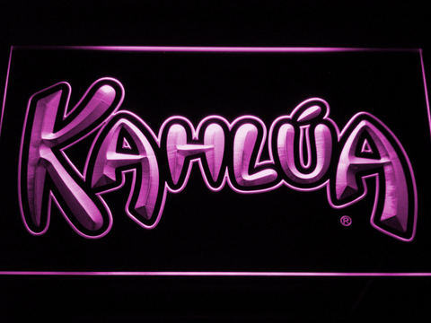 Image of Kahlua LED Neon Sign - Purple - SafeSpecial