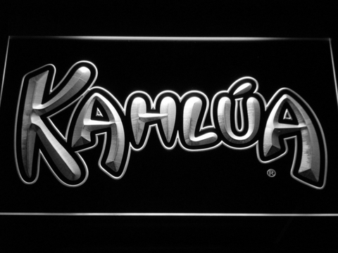 Kahlua LED Neon Sign - White - SafeSpecial
