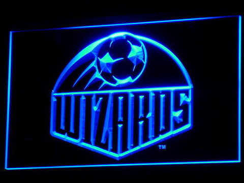 Image of Kansas City Wizards LED Neon Sign - Legacy Edition - Blue - SafeSpecial