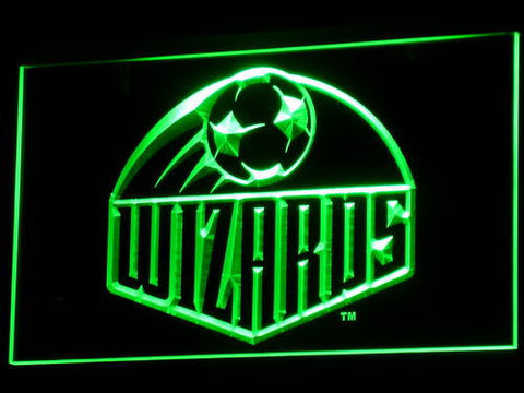 Image of Kansas City Wizards LED Neon Sign - Legacy Edition - Green - SafeSpecial