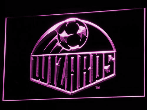 Kansas City Wizards LED Neon Sign - Legacy Edition - Purple - SafeSpecial