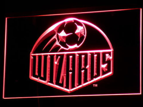 Kansas City Wizards LED Neon Sign - Legacy Edition - Red - SafeSpecial
