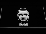 Kanye West Face LED Neon Sign - White - SafeSpecial