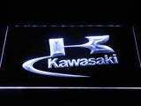 Kawasaki Logo LED Neon Sign - White - SafeSpecial