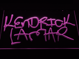 Kendrick Lamar LED Neon Sign - Purple - SafeSpecial