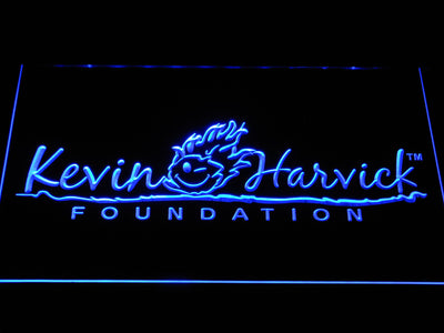 Kevin Harvick Foundation LED Neon Sign - Blue - SafeSpecial