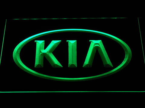 Image of Kia LED Neon Sign - Green - SafeSpecial