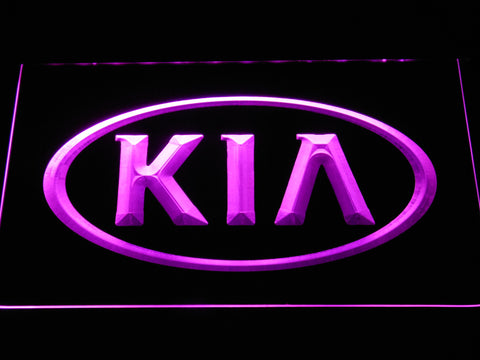 Image of Kia LED Neon Sign - Purple - SafeSpecial