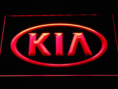 Kia LED Neon Sign - Red - SafeSpecial
