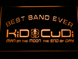 Kid Cudi Best Band Ever LED Neon Sign - Orange - SafeSpecial