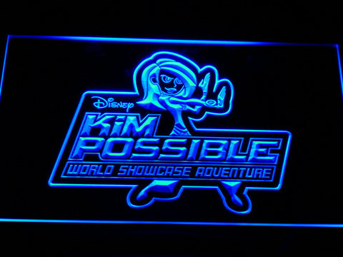 Image of Kim Possible LED Neon Sign - Blue - SafeSpecial