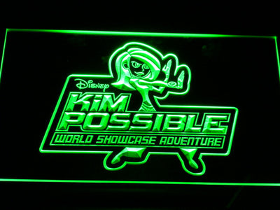 Kim Possible LED Neon Sign - Green - SafeSpecial