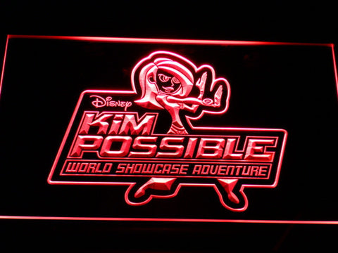 Image of Kim Possible LED Neon Sign - Red - SafeSpecial