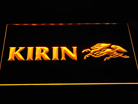 Kirin LED Neon Sign - Yellow - SafeSpecial