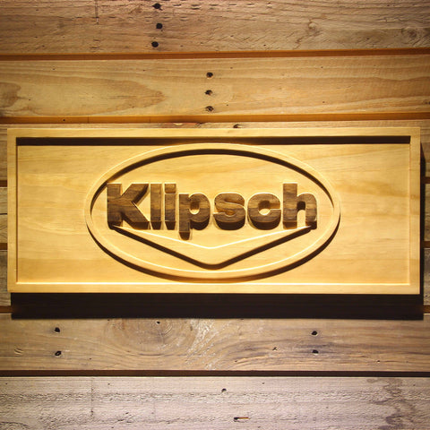 Image of Klipsch Wooden Sign - Small - SafeSpecial