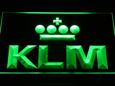 KLM LED Neon Sign - Green - SafeSpecial