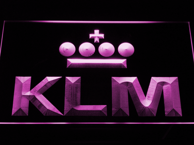 KLM LED Neon Sign - Purple - SafeSpecial