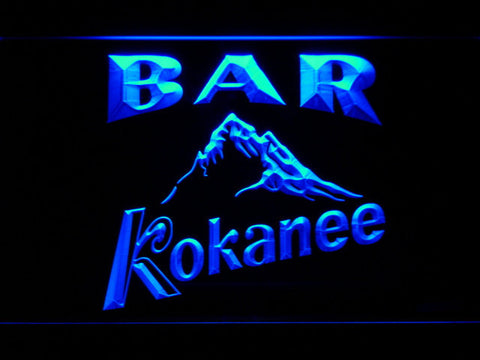 Image of Kokanee Bar LED Neon Sign - Blue - SafeSpecial
